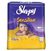 Подгузники Sleepy Sensitive 2 Jumbo Mini