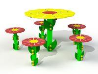 Столик со стульчиками PTP 039