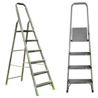 Лестница из алюминия  4+1  ступеней