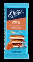 Молочный шоколад Wedel Toffee, 100г