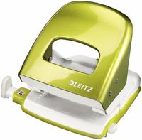 Leitz Дырокол LEITZ 5008, 30 листов, зеленый