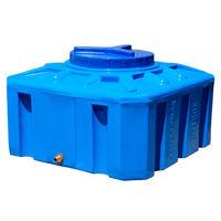 cumpără Rezervor apa 100 L patrat (albastru) 49x49x57 în Chișinău