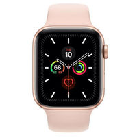 Apple Watch Series 5 44mm/Gold Aluminium Case With Pink Sand Sport Band, MWVE2 GPS