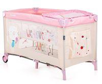 Chipolino Манеж-кровать  Yasmin Y0152PI розовый