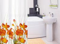 Tatkraft FRENCH POPPIES штора для ванной 14046