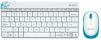 Logitech Wireless Combo MK 240 White