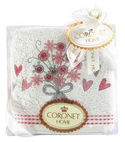 Полотенце для лица  CORONET HOME в подарочной упаковке, Турция