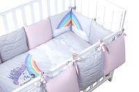 Veres Комплект для кроватки Unicorn Love, 6 штк