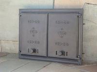 Ușa din fonta DCHP1