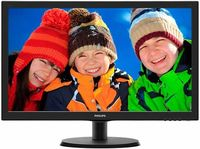 "21.5"" PHILIPS LED 223V5LSB Black"