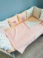 Комплект постельного белья в кроватку Pampy Peach Plush