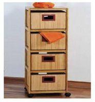 Комод деревянный 4 яруса Kesper 17986