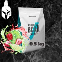 Essential BCAA 2:1:1 - Căpșună și Lime - 0.5 KG