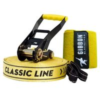 Слэклайн Gibbon Classic Line X13 XL - Tree Pro Set 25m 5cm, yellow, GBSLX13XL25TPSCL