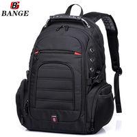 """Рюкзак для города и путешествий BG1903 для ноутбука дo 15.6"""",водонепроницаемый, чёрный"""