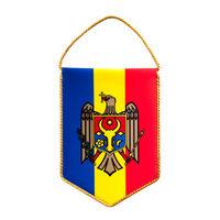 купить Вымпел атласный 2-х сторонний - Герб Молдовы в Кишинёве