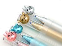 Ручка Пишу- стираю.Синяя. 0.5 мм. Цвет ассорти