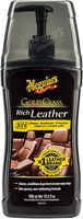 Meguiar's G17914 Gold Class Rich Leather 3in1 Leather Cleaner Leather Conditioner Leather Protectant 400ml