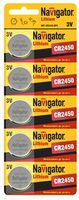 батарейка-элементы питания NBT-CR2450-BP5