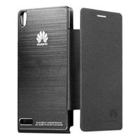 Чехол Flip Cover Huawei Ascend P6 Black