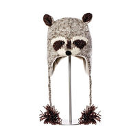Шапка взрослая Knitwits Robbie The Racoon Pilot Hat, A1469