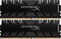 16GB (Kit of 2*8GB) DDR4-3600 HyperX® Predator DDR4, PC28800, CL17, 1.35V,  BLACK heat spreader, Intel XMP Ready (Extreme Memory Profiles)