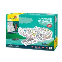 3D PUZZLE Crocodile