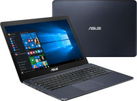"""NB ASUS 15.6"""" E502NA Blue (Celeron N3350 4Gb 1Tb) 15.6"""" HD (1366x768) Glare, Intel Celeron N3350 (2x Core, 1.1GHz - 2.4GHz, 2Mb), 4Gb (OnBoard) PC3-10600, 1Tb 5400rpm, Intel HD Graphics, HDMI, 100Mbit Ethernet, 802.11n, Bluetooth, 1x USB 3.1 Type C, 1x USB 3.0, 1x USB 2.0, Card Reader, Webcam, Endless OS, 2-cell 32 WHrs Li-Ion Battery, 1.86kg, Blue"""