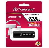 TRANSCEND 128GB JetFlash 700,, чёрный