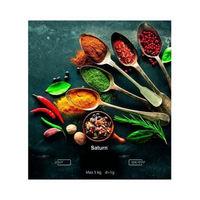 Весы кухонные Saturn ST-KS7812, Green/Picture