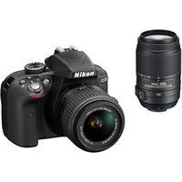 Зеркальная фотокамера NIKON D3300 Kit 18-55VR55-300VR