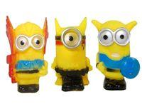 """Набор персонажей """"Minions"""", 3шт резиновые"""