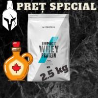 Сывороточный протеин (Impact Whey Protein) - Кленовый сироп - 2.5 KG
