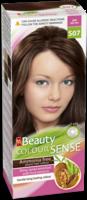 Vopsea p/u păr, SOLVEX MM Beauty Sense, 125 ml., S07 - Castaniu