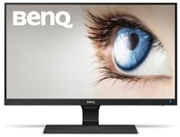 """27.0"""" BenQ """"EW2775ZH"""", Black (AMVA+, 1920x1080, 4ms, 300cd, LED20M:1(3000:1), D-Sub, 2xHDMI, Spk) (27.0"""" AMVA+ : WED, 1920x1080 Full-HD, 0.311mm, 4ms GTG, 300 cd/m², DCR 20 Mln:1 (3000:1), 72%NTSC, 16.7Mln Colors, 178°/178° @C/R>10, 30~83 kHz/50~76 Hz, D-sub + HDMI1.4 x2 (MHL), HDMI Audio-In, Headphone-Out, Built-in speakers 2Wx2, External Power Adapter, Fixed Stand (Tilt -5/+20°), Low Blue Light, Flicker-free Technology, Cinema mode, Super Resolution, Black Level, Smart focus, Black)"""