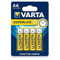 AA/Mignon Superlife/бл-4 бат. VARTA