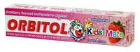 cumpără Orbitol Pasta de dinti pentru copii cu aromă de căpșuni (145 g) 289595 în Chișinău