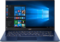 "ACER Swift 5 Charcoal Blue (NX.HHYEU.00H), 14.0"" IPS FHD Multi-Touch  (Intel Core i7-1065G7 4xCore 1.3-3.9GHz, 16GB (1x16) DDR4 RAM, 512GB PCIe NVMe SSD, Intel Iris Plus Graphics, WiFi-AC/BT, FPR, Backlit KB, 4cell,HD Webcam, RUS, 0.99kg,14.9mm)"
