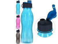 Бутылка питьевая 0.6l с дозатором, пластик