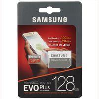 "Карта памяти MicroSD Samsung EVO Plus ""MB-MC128GA"""