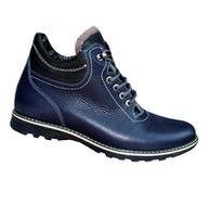 Ботинки Мужские из натуральной кожи на натуральном меху Sport 32 BL