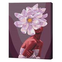 Pasiunea florilor, 40х50 cm, pictură pe numere  BS51361