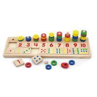 Viga Деревянная игрушка Учимся считать
