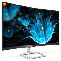 "32.0"" PHILIPS ""328E9FJAB"", G.Black (Curved-VA 2560x1440, AMD FreeSync, 5ms, 250cd, D-Sub+HDMI+DP) (31.5"" Curved-VA W-LED, 2560x1440 Quad-HD, 93ppi, 5ms (GtG), 250 cd/m², DCR 20Mln:1 (3000:1), 16.7M, 178°/178° @CR>10, D-Sub + HDMI + DisplayPort,    Audio-In, Headphone-Out, Speakers 3W x2,   External Power Adapter, Fixed Stand (Tilt: -5/20°),   AMD FreeSync, Ultra Wide-Color Technology,   Black & Silver Glossy in the box: •Monitor with stand; •Cables: HDMI cable, Power cable; •User Documentation )"