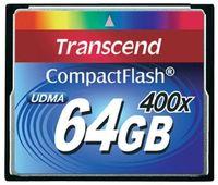 Сard de memorie Transcend CompactFlash 64Gb 400X (TS64GCF400)