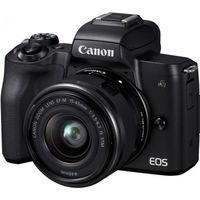 Фотоаппарат Canon EOS M50 Black + EF-M15-45 IS STM, Kit
