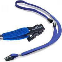 Durable Шнурок с клипсой DURABLE для бейджа синий