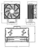 Cooler Procesor DeepCool Gammaxx GTE V2 Black