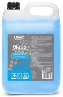 Clinex Glass 5л стекла, зеркала, хрусталь, эмаль, ламинат