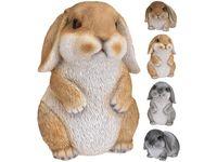 Кролик с длинными ушами 15X10cm, керамика, 2 цвета